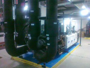 Determinazione prestazioni gruppi frigoriferi ed assorbitori a bromuro di litio in Lubiana